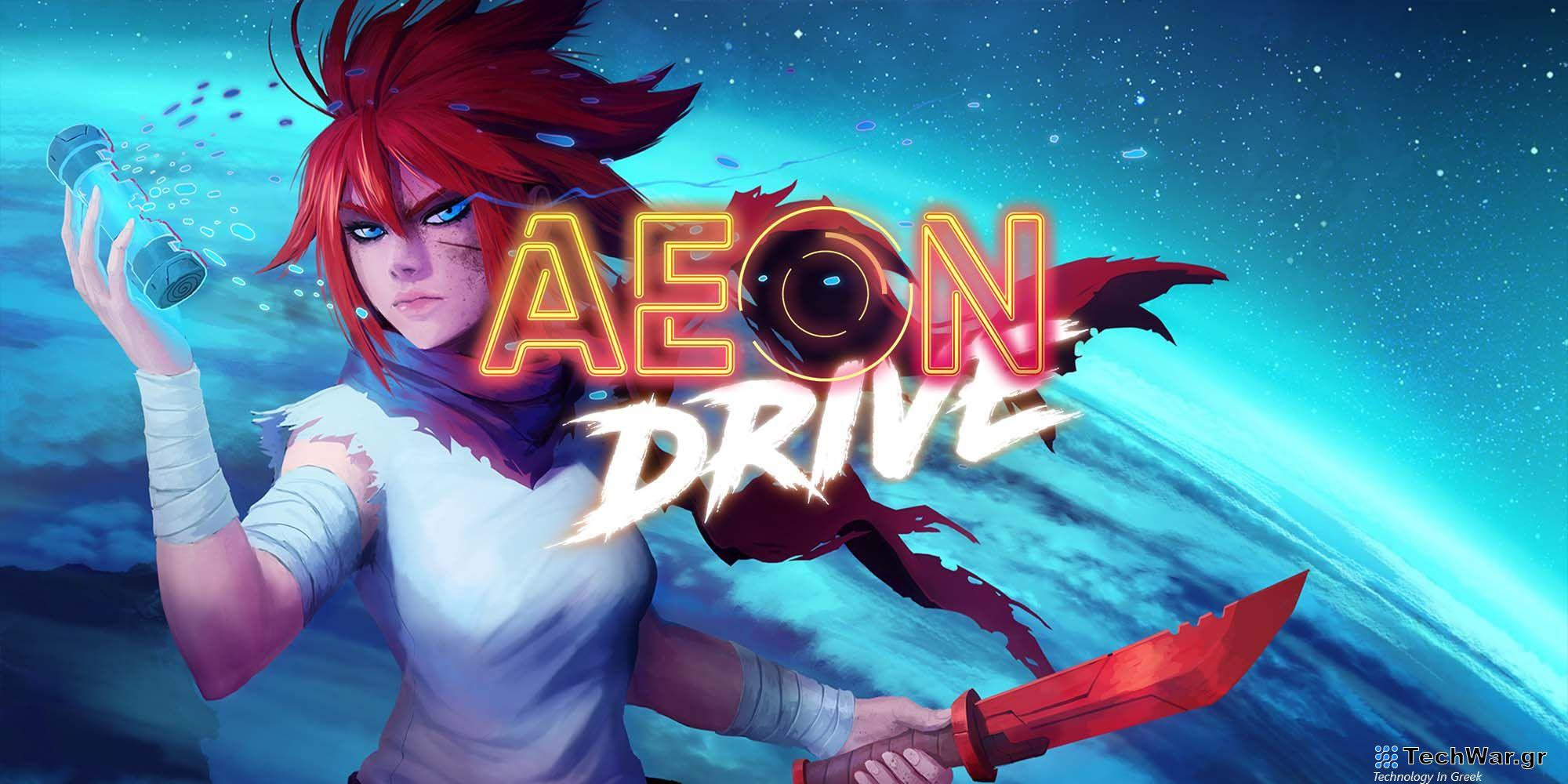 Aeon Drive Review A Fun Fast Game Caught Up On The Small Details feature pic - Busted Gaming Scout #77 | Όταν μιλάμε για Cyberpunk Indies μιλούμε για το Aeon Drive